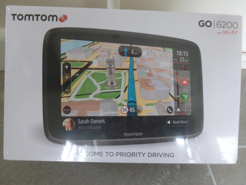 tomtom go 6200 top of the range sat nav newport wightbay. Black Bedroom Furniture Sets. Home Design Ideas