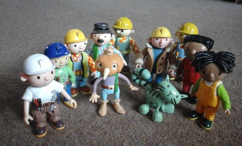 8 Toys Yeards : Bob the builder yard caravan and toys ryde wightbay