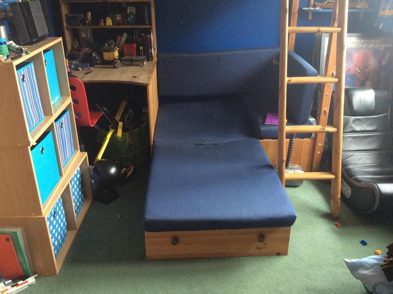 Cabin Bed With Pull Out Sofa And Desk In Ryde Wightbay