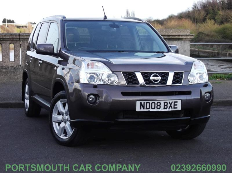 nissan x trail 2008 in portsmouth wightbay. Black Bedroom Furniture Sets. Home Design Ideas