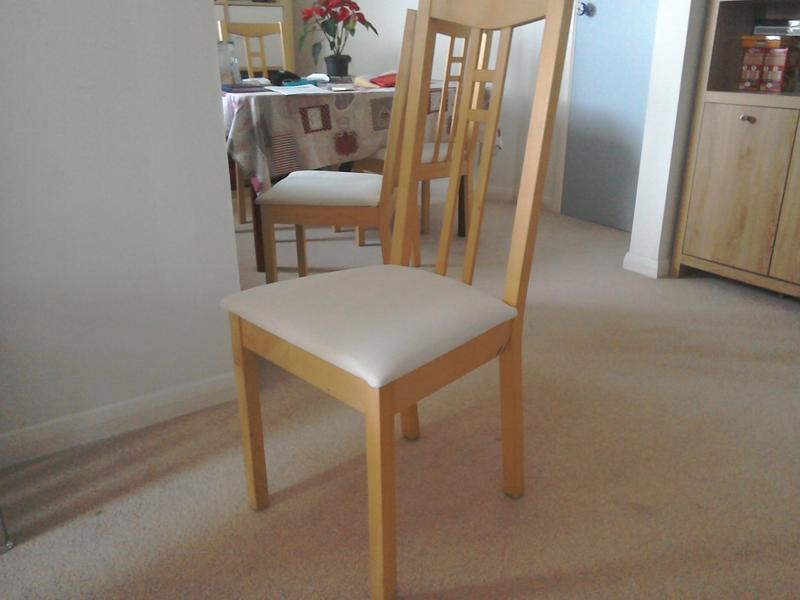 ikea dining room chairs in shanklin wightbay