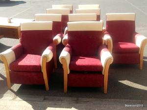 9 Fireside chairs £25 EACH in Cowes