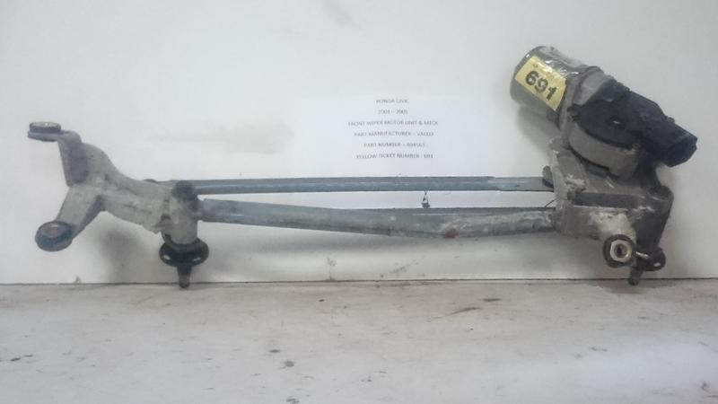 Honda Civic 2001 2005 Front Wiper Motor Unit And