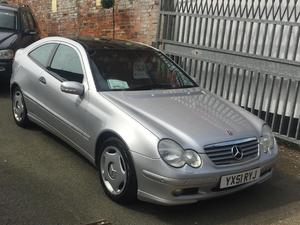 2002 Mercedes C220 CDI Sport Automatic Coupe