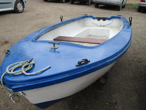 9ft5 grp dinghy in Bembridge