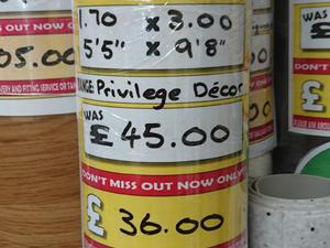 ExtraGrip Privilege Decor 1.70 x 3.00 in Newport Isle of Wight