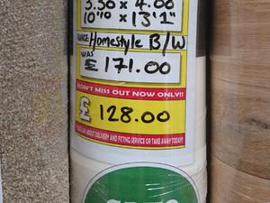 Homestyle Black White 3.30 x 4.00 in Newport Isle of Wight