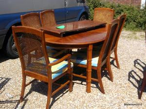 Dining table & 6 chairs £85 in Cowes