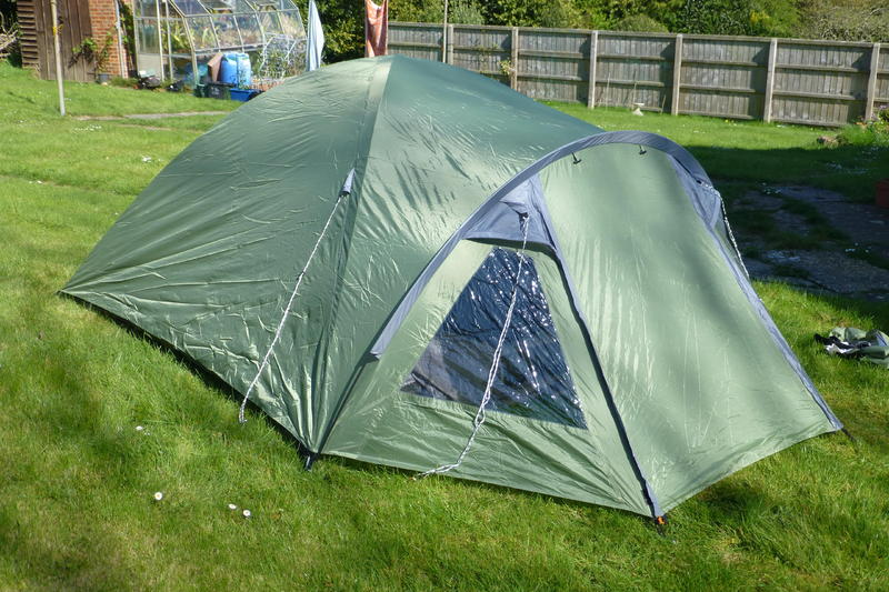 & 4 man Eurohike dome tent - Ryde - Sold | Wightbay