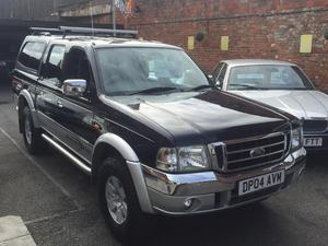 2004 Ford Ranger Thunder Double Cab 2.5 TD 4WD in East Cowes