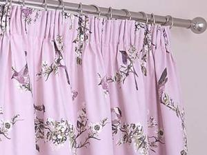 Beautiful Birds Floor Length CurtainsHeather Colour From Dunelm As New In Freshwater