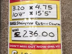Stainfree Rustique Rustic Charm 3.20 x 4.75 Mtrs in Newport
