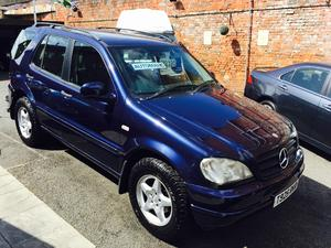 1999 Mercedes Ml320 Automatic 7 Seater