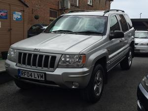 2004 Jeep Grand Cherokee Limited 2.7CRD Automatic