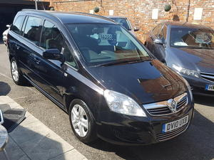 2010 Vauxhall Zafira 1.6 Exclusive 7 Seater