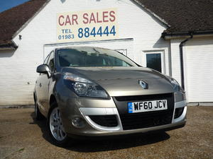 2010 RENAULT SCENIC PRIVILAGE TOMTOM 2.0 AUTOMATIC £5,295