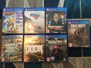 VARIOUS PLAYSTATION 4 GAMES in Shanklin