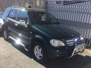 2000 MERCEDES ML270 CDI AUTOMATIC