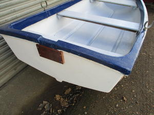8ft6 grp pram dinghy in Bembridge