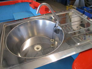stainless sink unit in Bembridge