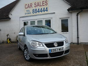 2007 VOLKSWAGEN POLO S 1.4 AUTOMATIC £2,995