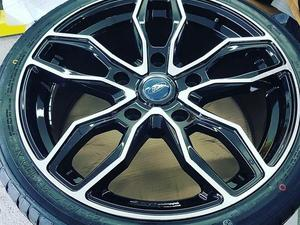 """Brand New 20"""" Turismo Style Black/Polished Alloy Wheels & Tyres 5x160 Fit Ford Transit Custom in Ventnor"""
