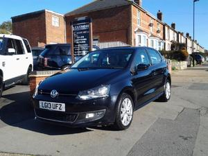 """ NOW SOLD "" 2013 Volkswagen Polo 1.6TDI ( 90ps ) SEL"